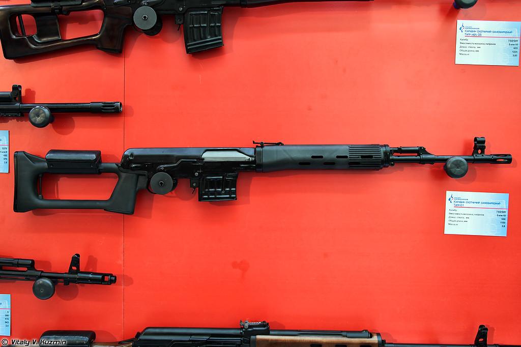 7,62х54R карабин Тигр-01 (7.62x54R Tigr-01)