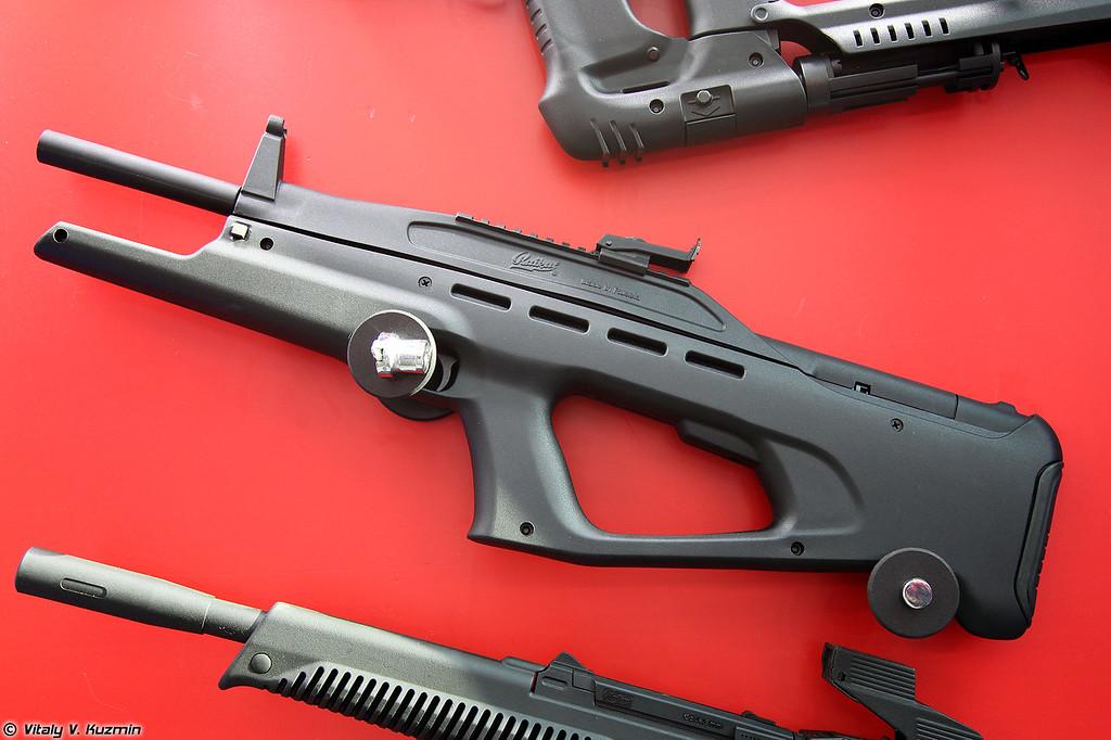 .177 пневматическая винтовка МР-514К (.177 air rifle MR-514K)