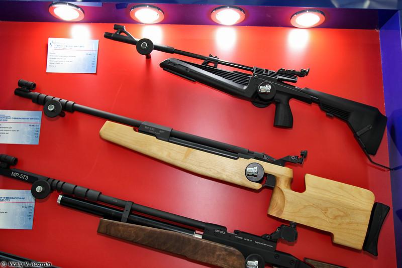 .177 пневматическая винтовка МР-61 исп. 09 и .177 спортивная винтовка МР-532 (.177 air rifle MR-61-09 and .177 sport air rifle MR-532)