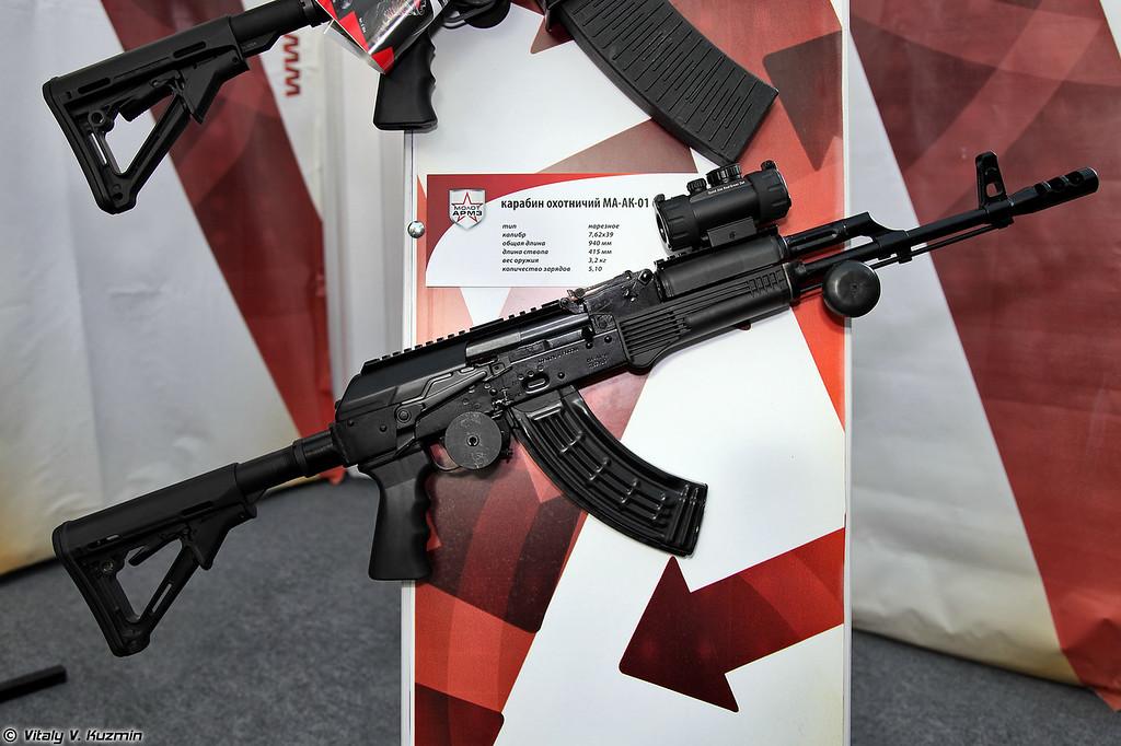 7,62x39 карабин MA-AK-01 Спорт (7.62x39 MA-AK-01 Sport)