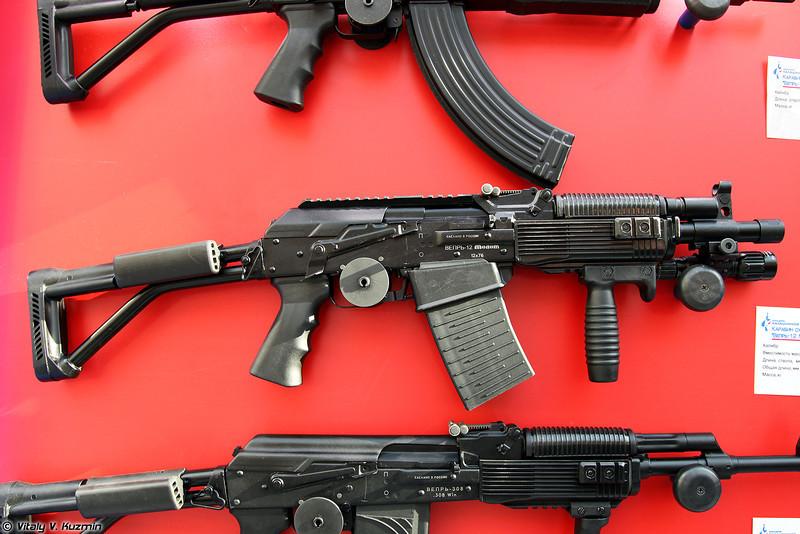 12x76 карабин Вепрь-12 Молот ВПО-205-03 (12x76 Vepr-12 Molot VPO-205-03)
