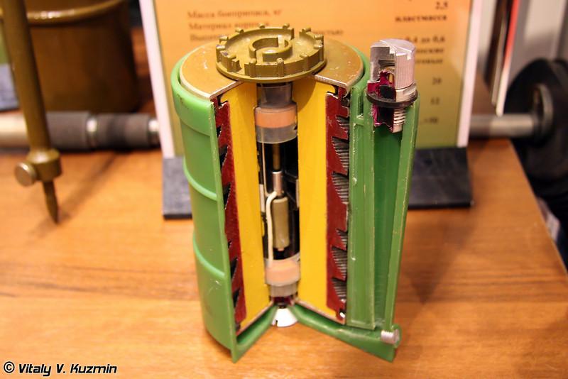Противопехотный осколочный боеприпас кругового поражения ПОБ (POB mine)