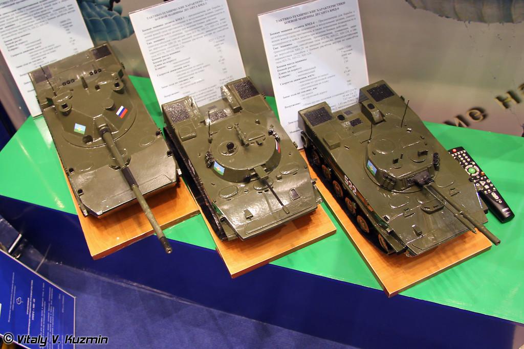 2С25, БМД-3 и БМД-4 (2S25, BMD-3 and BMD-4)