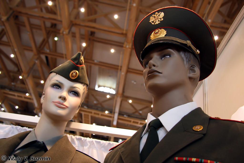 Образцы мужской и женской форменной одежды (Women and men uniform)