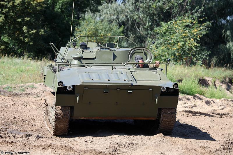 Установка разминирования УР-77 Метеорит (UR-77 Meteorit mine clearing vehicle)