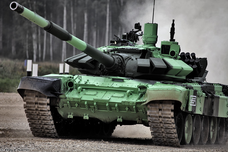 Танк Т-72Б3М команды России (T-72B3M tank of Russian team)