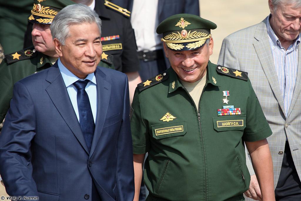 Министры обороны Казахстана и России (Ministers of Defence of Kazakhstan and Russia)
