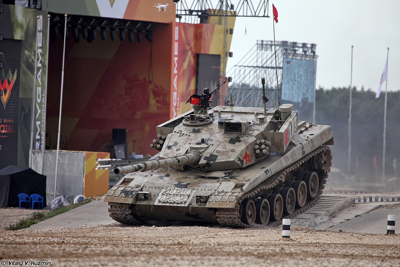 Танк Type 96B (ZTZ-96B) команды Китая (Type 96B (ZTZ-96B) tank of Chinese team)