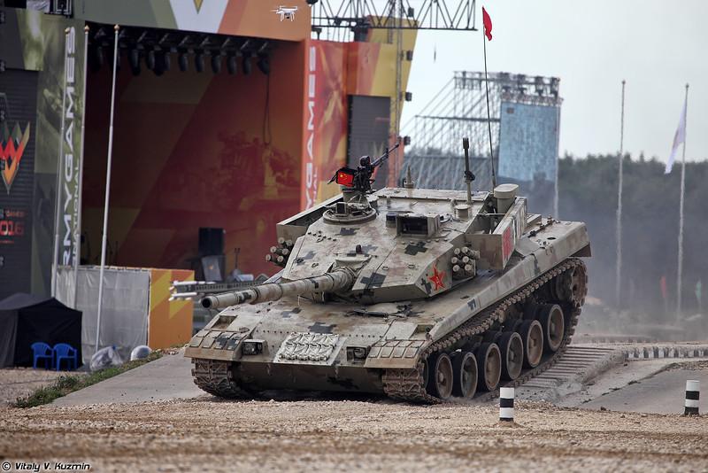 Танк Type 96B (ZTZ-96B) команды Китая (Type 96B (ZTZ-96B) tank of Chinese team)