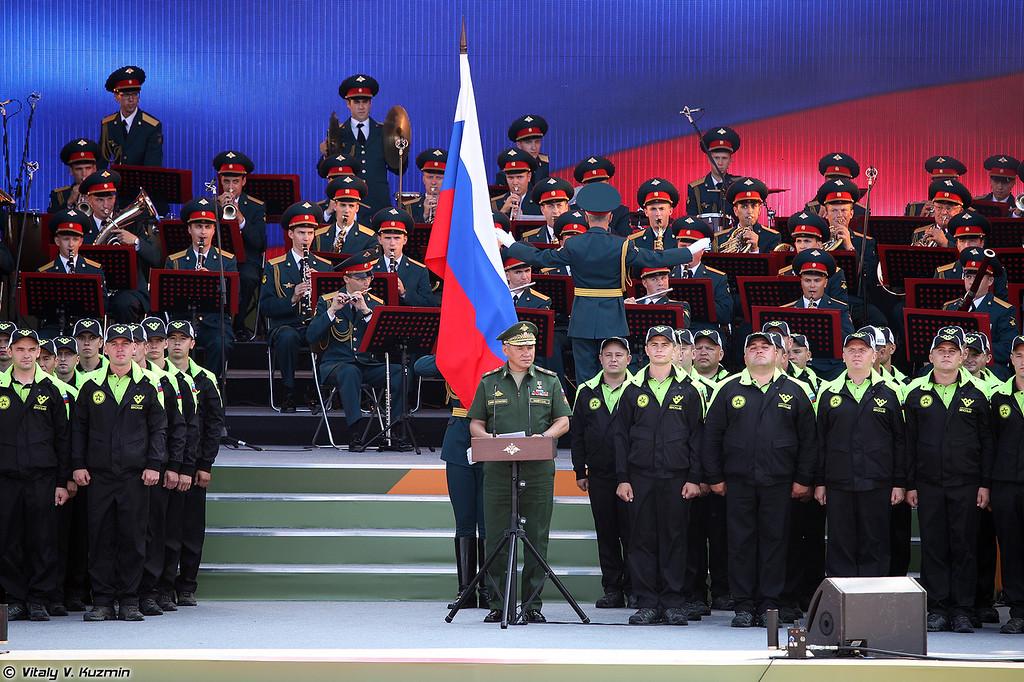Министр обороны России (Minister of Defence of Russia)
