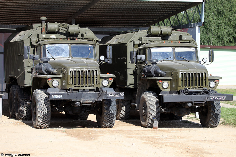 МТО-БТ (MTO-BT maintenance vehicle)