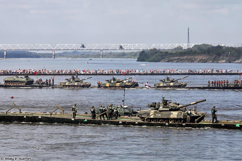 Переправа танков (Tanks ferry)