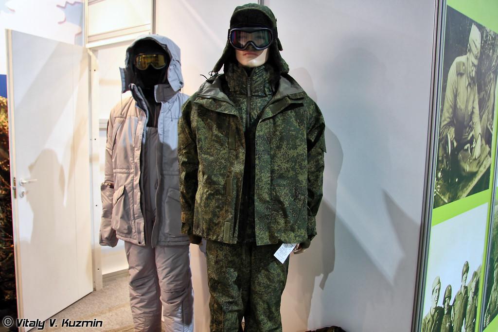 """""""Костюм ветрозащитный для военнослужащих спецназа"""" от НПЦ Униформа (Winter suit for Special Forces from NPTs Uniforma company)"""