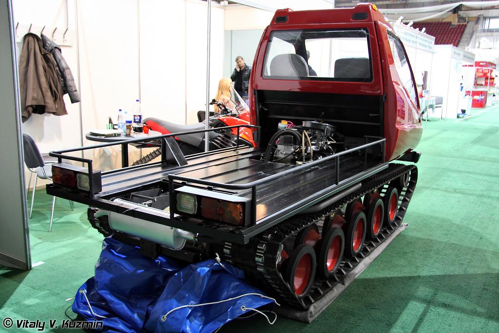 Многоцелевой вездеход Итлан (Multi functional all-terrain vehicle Itlan)