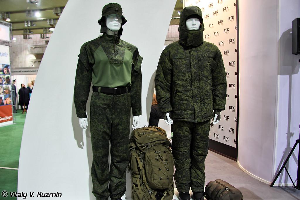 Новые образцы форменного обмундирования от компании БТК Групп (New uniform variants from BTK Group company)