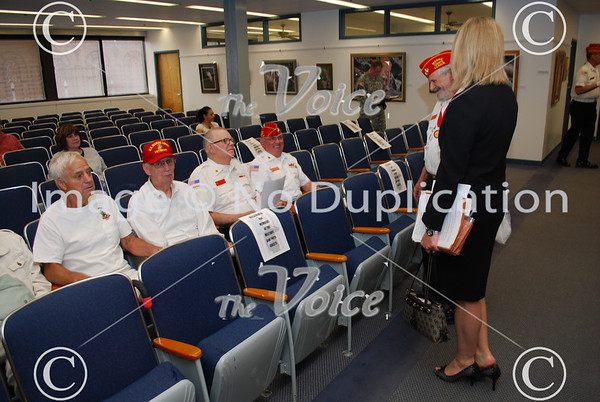 Aurora, IL City Council Military Community Covenant Ceremony 5-25-10
