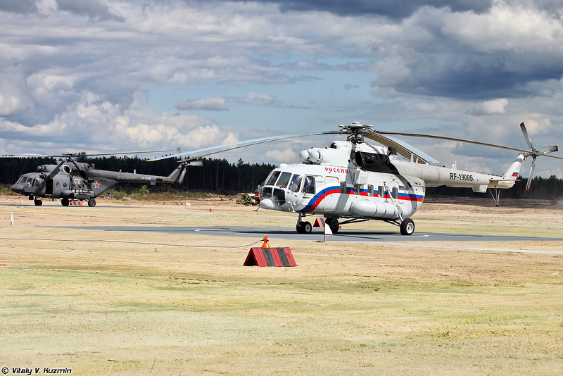 Ми-8АМТШ и Ми-8АМТ-1 (Mi-8AMTSh and Mi-8AMT-1)