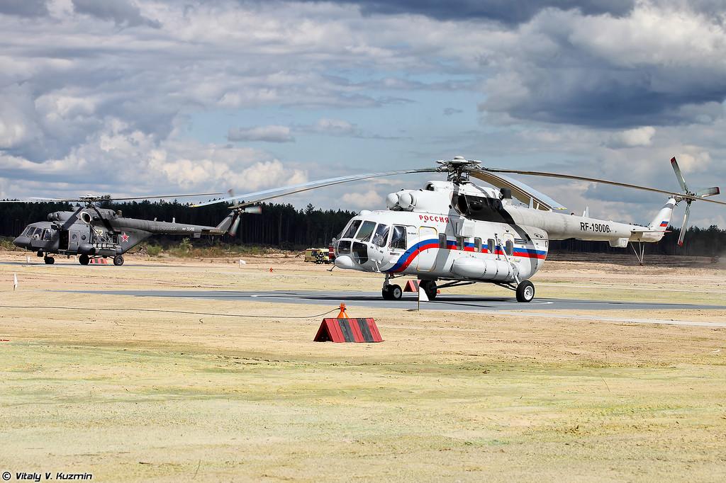 Ми-8АМТШ и Ми-8АМТ-1 (Mi-8AMTSh and Mi-8AMT-1)