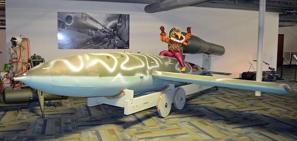 """German V-1 """"Doodle Bug"""" Bomb"""