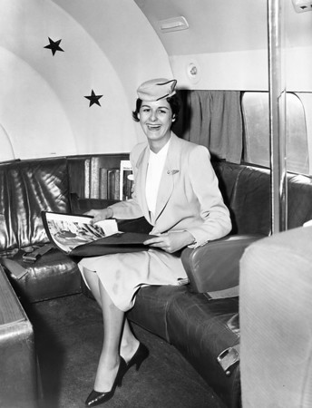 Ragina Macas, National Airlines. 1956