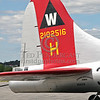"Tail Close Up - B-17G ""Aluminum Overcast"" EAA - Lawrence (MA) Municipal Airport - August 13, 2006"