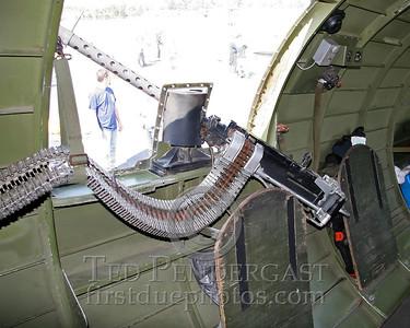 """Interior - """"Nine-O-Nine""""'s Starboard Waist Gun Position"""