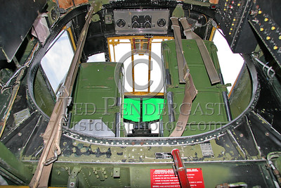 Interior - Looking Up From The Forward Crew Access Hatch To The Cockpit