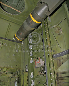 Interior - Bomb Rack Detail & Dumb 250lb Bomb