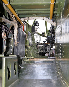 Interior - Looking Forward Through The 'Tunnel' To The Nose/Bombadier Position