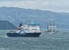 'B.E. Guayas' departs from Wellington, 21 January 2016