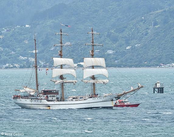 'B.E. Guayas' Departs 2016