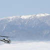 """""""VFR on top""""  AH-1W from HMLA 775 with Big Bear in the background."""