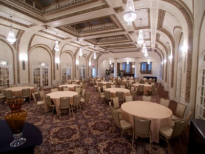 Main dining room, Blackwood Hotel inDavenport, IA