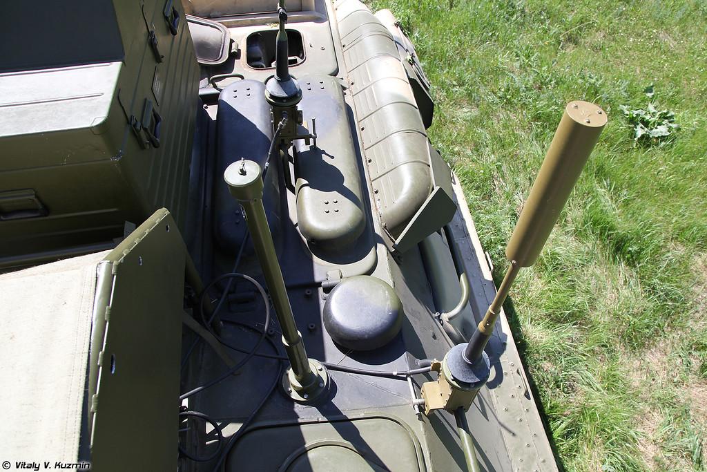 Общий вид крыши машины (Top view)
