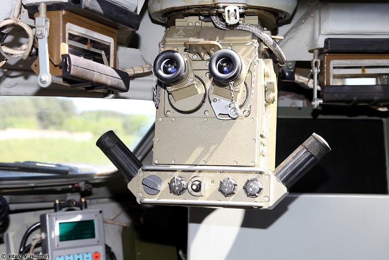 Дневно-ночной активно-импульсный командирский прибор ТКН-АИ (TKN-AI commander sight)