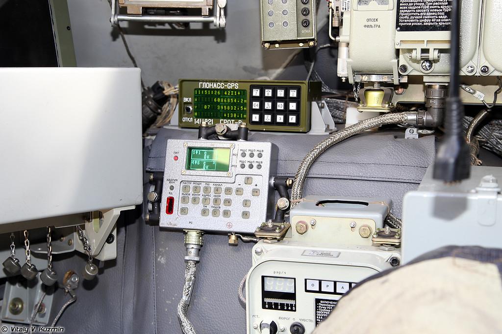 Возимый приёмоиндикатор КНС ГЛОНАСС/GPS 14Ц821 Грот-В (14Ts821 Grot-V GLONASS/GPS navigator)