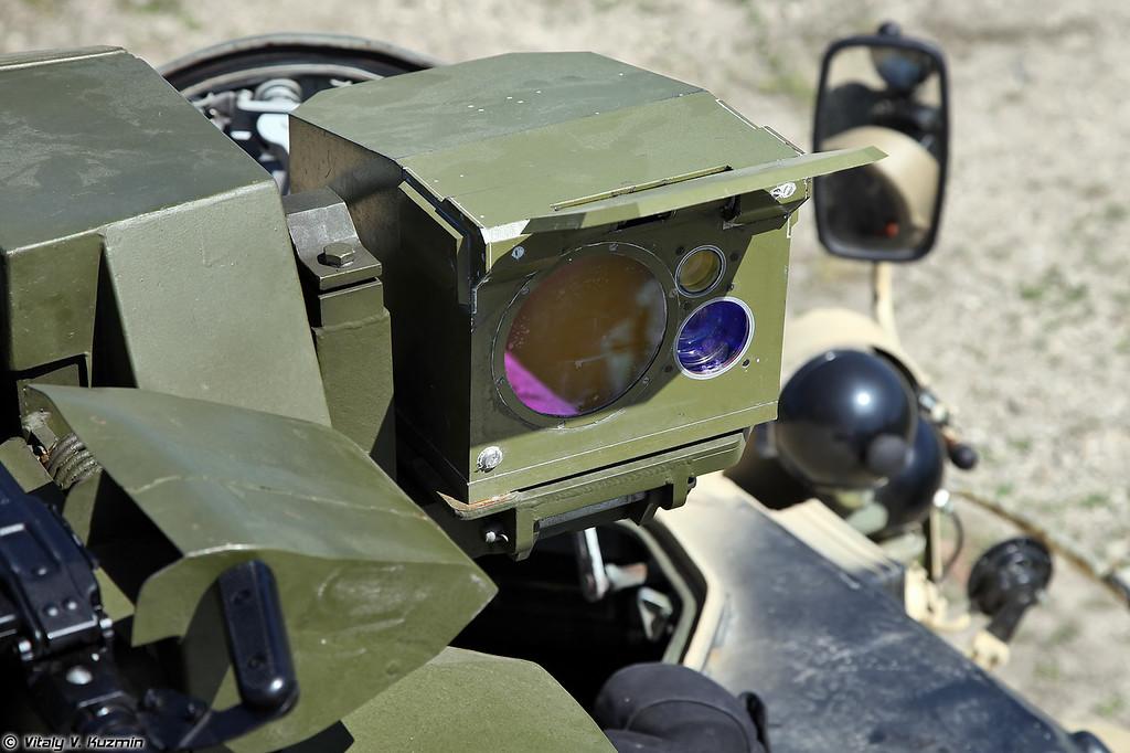 Дистанционно управляемый боевой модуль с пулеметом ПКТ (Weapon station with PKT machine gun)