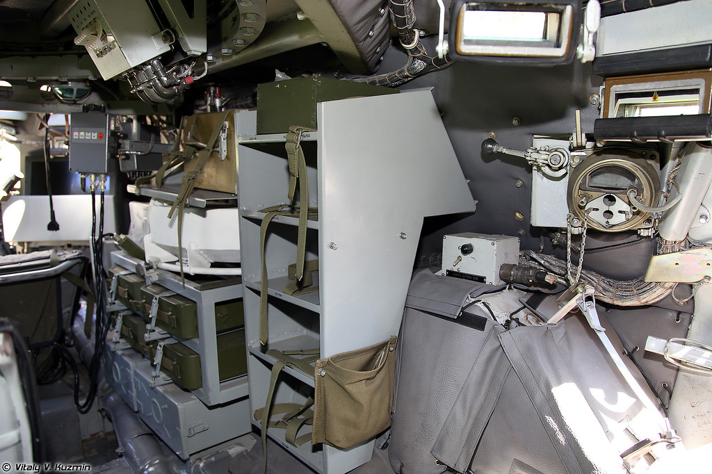 Место наводчика-оператора (Gunner's place)