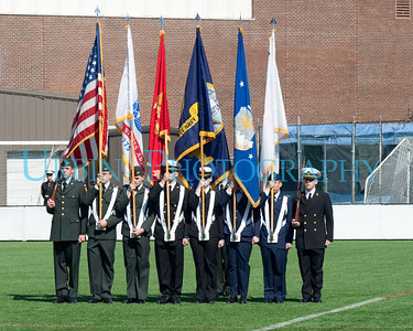 BU Tri-Service ROTC Pass In Review 2009