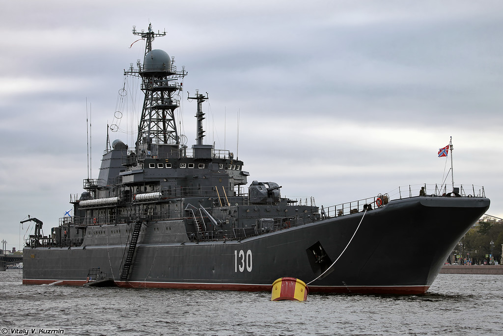 Baltic Fleet ships in Saint Petersburg