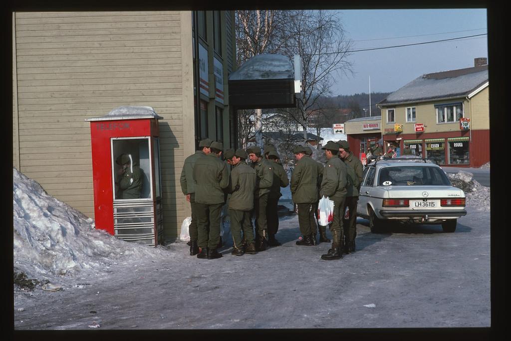 Arrowhead Express AMF-L Bardufoss, Malselv, Norway - Norvegia, March - Marzo 1988 Battaglione Alpini Susa