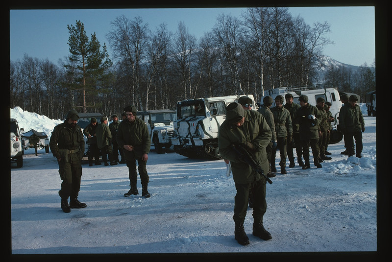 Arrowhead Express AMF-L Bardufoss, Malselv, Norway - Norvegia, March - Marzo 1988 Battaglione Alpini Susa