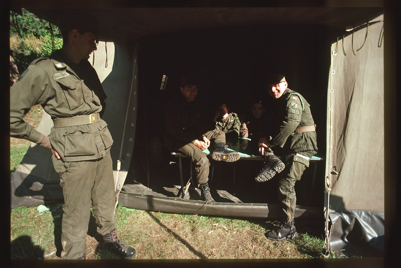 summer camp - campo estivo Battaglione Alpini Susa Germagnano,