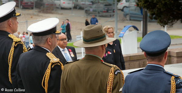Battle of Britain Commemoration, National War Memorial, Wellington, 15 September 2010