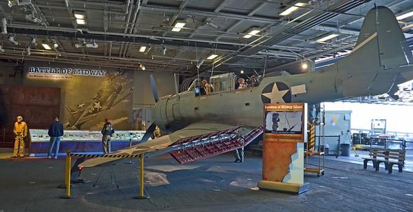 Douglas SBD Dauntless Dive Bomber  of WW II