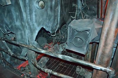 Damage inside Torpedo Hole