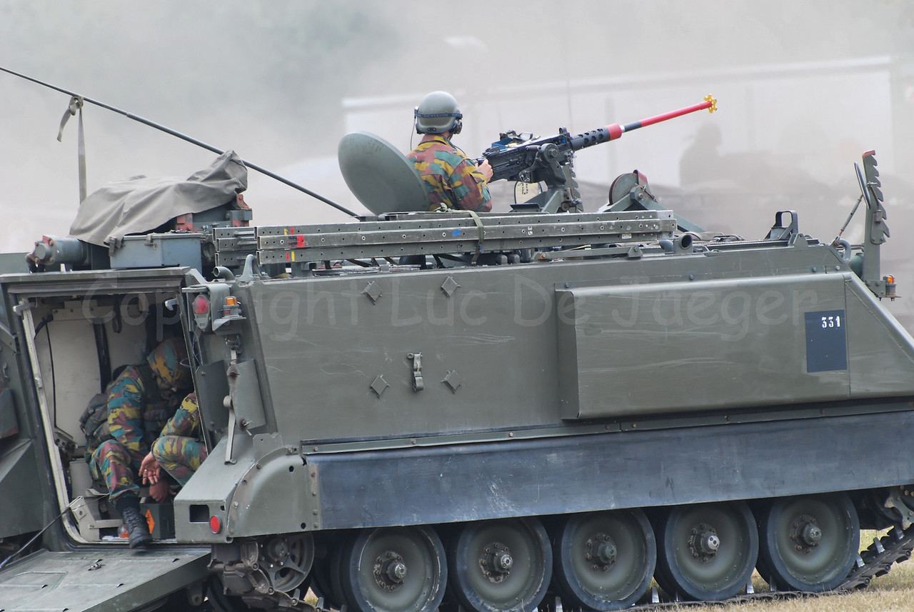 The M113 Armored Personnel Carrier is being replaced by updated Pandur vehicles.
