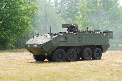 The AIV Piranha IIIC manufactured by Mowag.