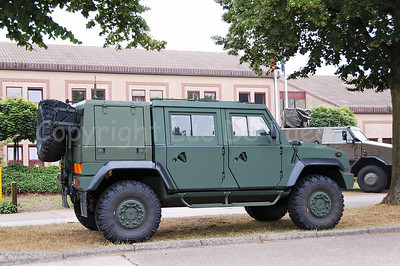 The Iveco LMV (Light Multirole Vehicle) that replaces all VW Iltis jeeps in the Belgian Army.