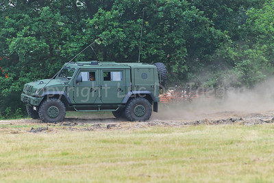 The Iveco LMV that replaces the VW Iltis Jeeps in the Belgian Army.